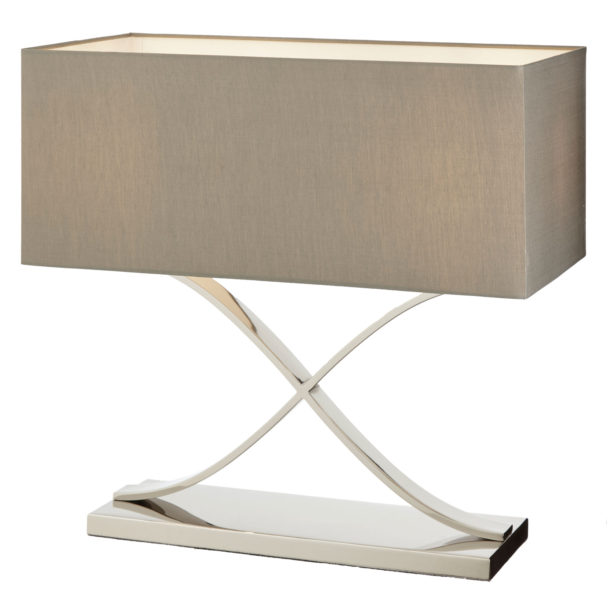 Byton Table Lamp with nickel finish RV Astley