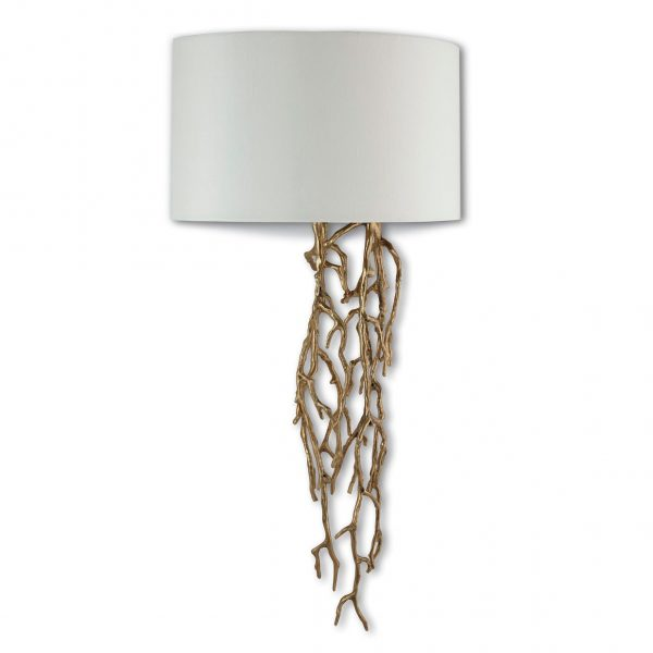 Brinley Wall Lamp solid brass body
