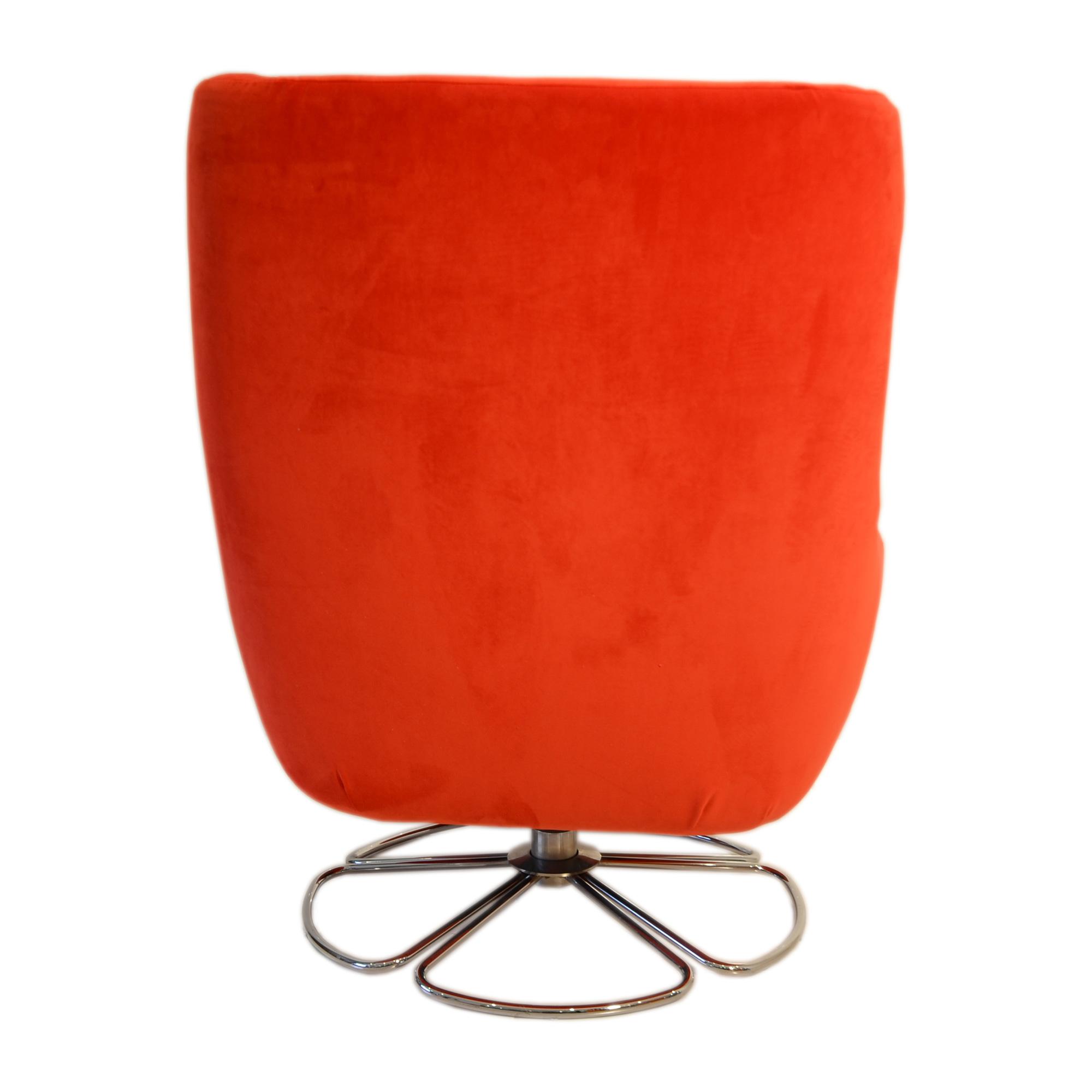 portobello back view shop alsans swivel chair