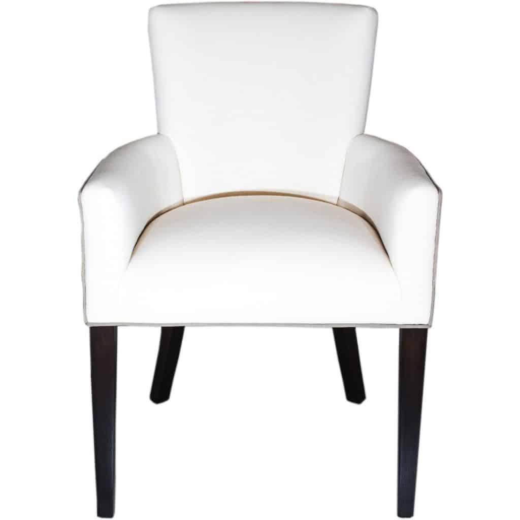 Belgravia White dining chair
