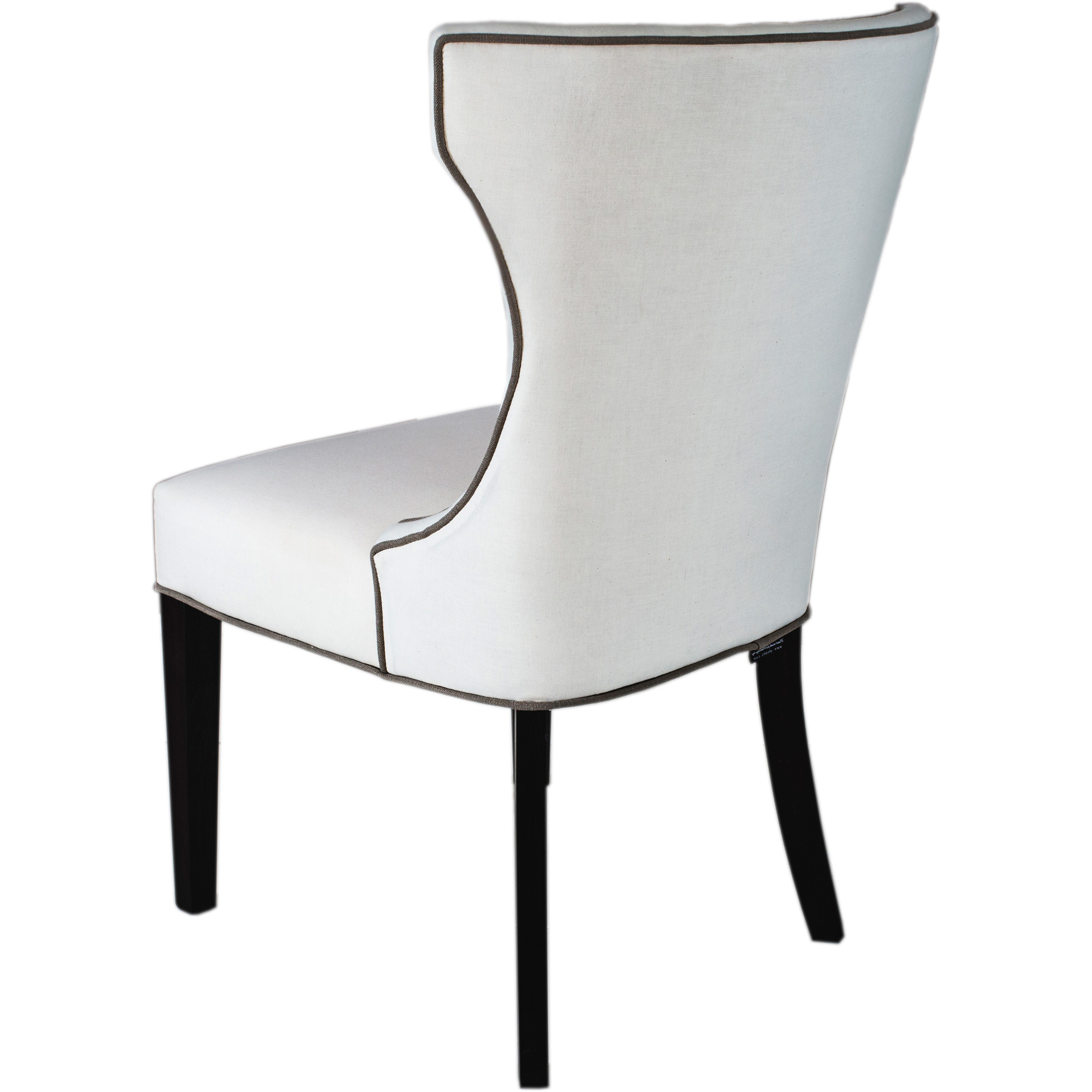 Bolton Dining Chair white background back