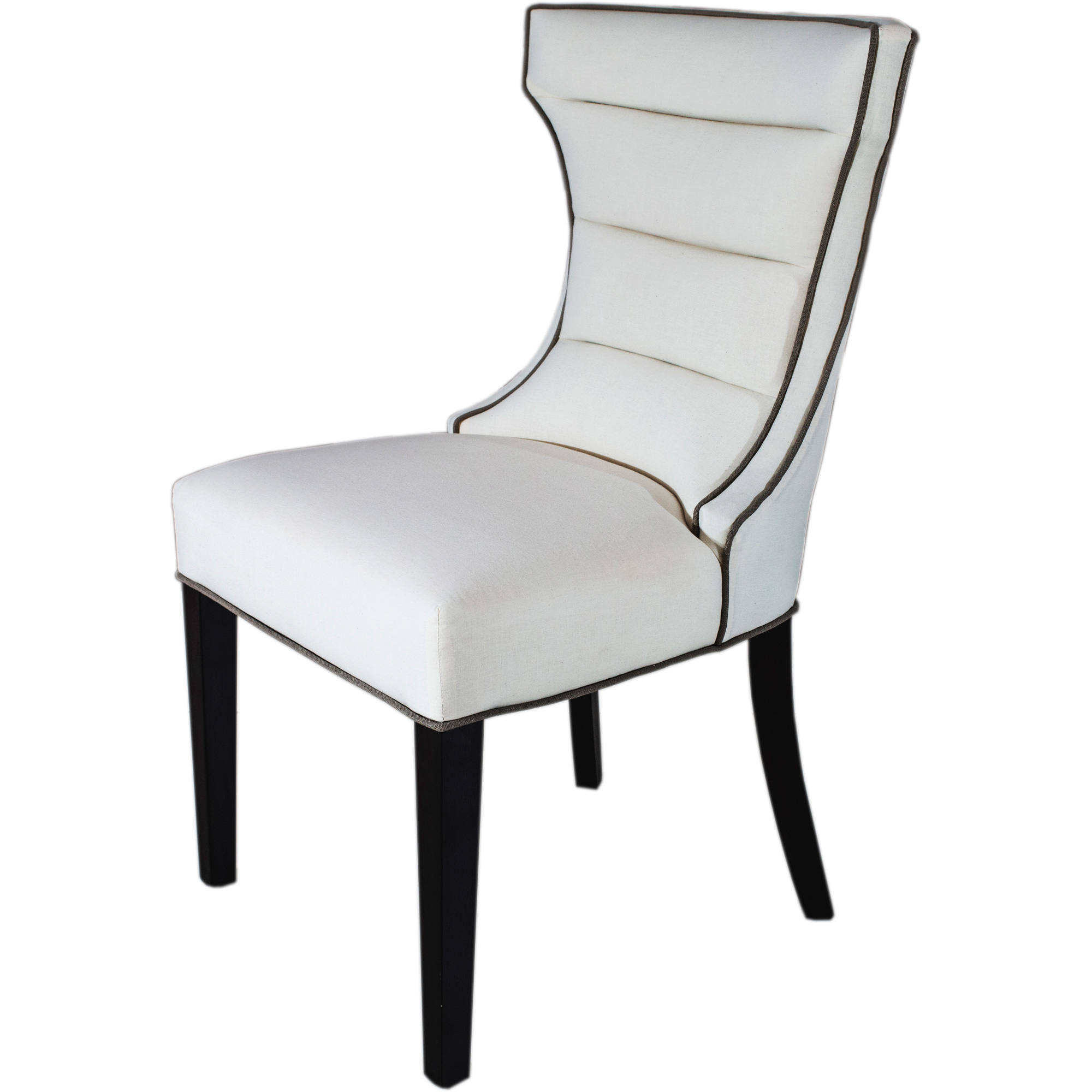 Bolton Dining Chair white background side