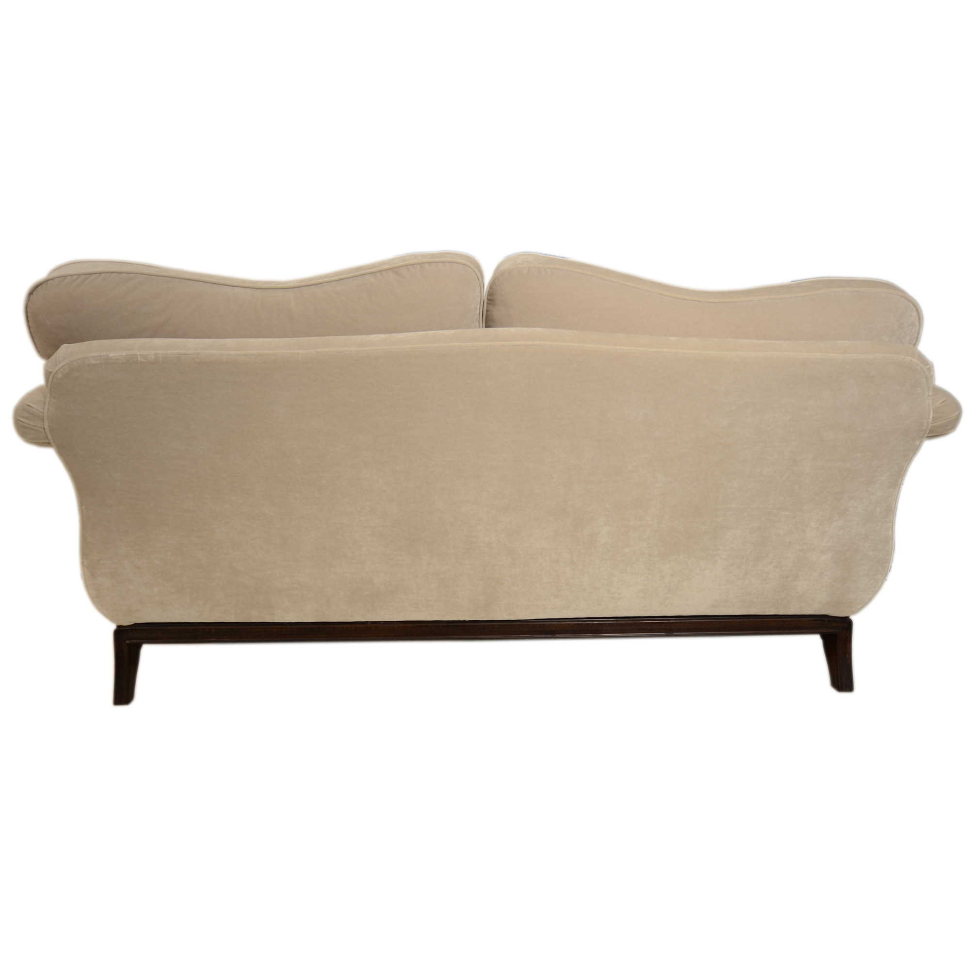 back view of camilla sofa on white background