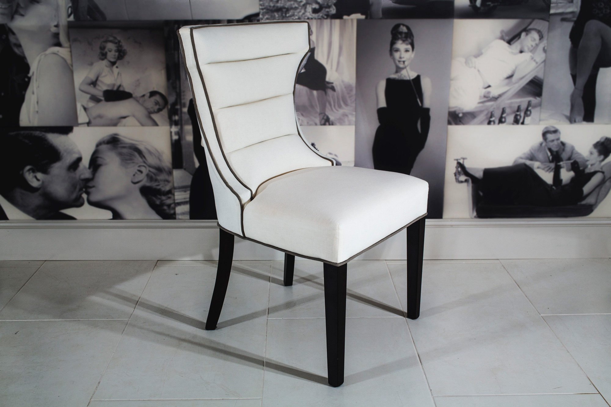 Bolton Dining Chair Lifestyle shot side