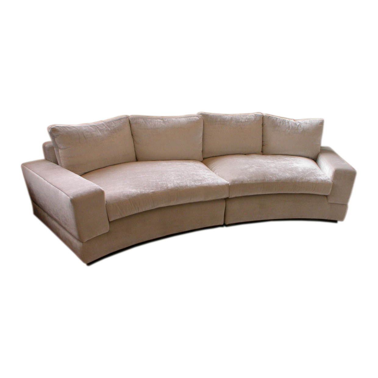 front view of eton sofa