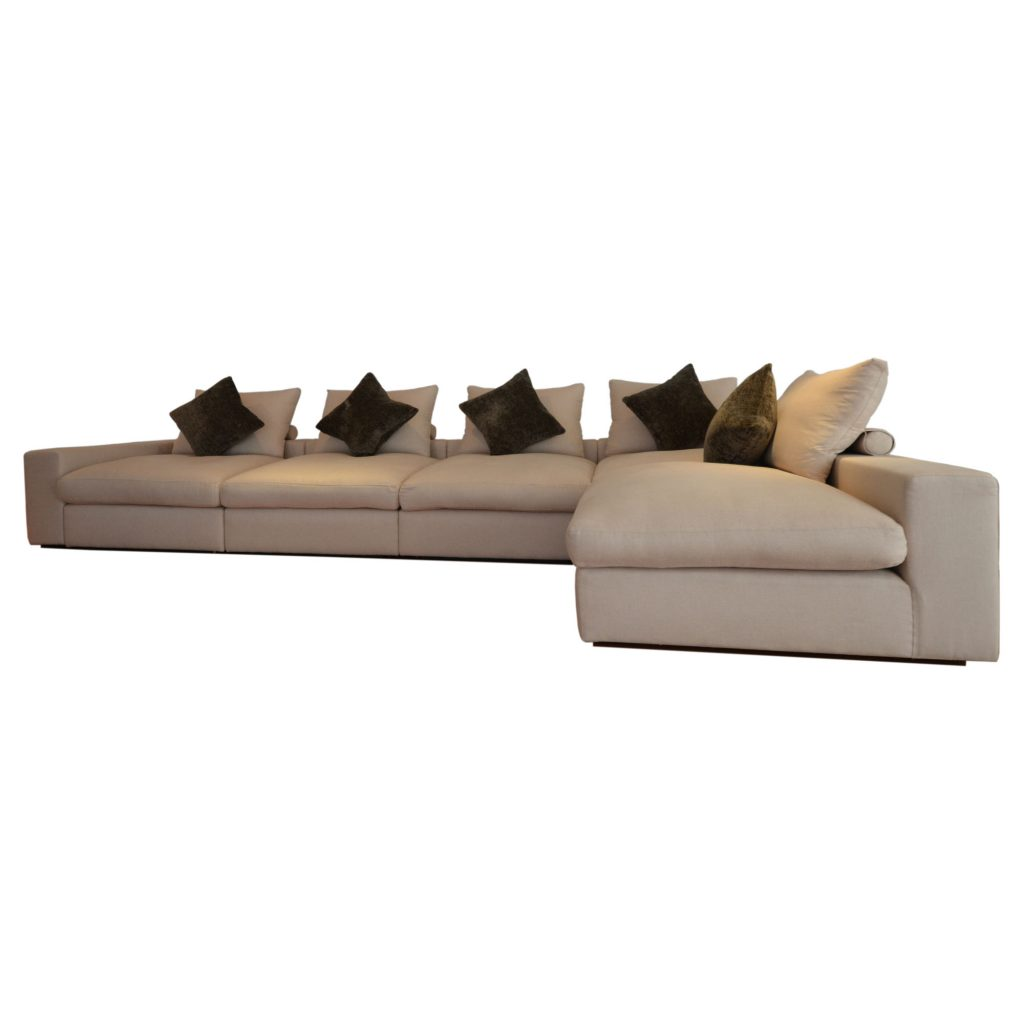 harry sofa front white background