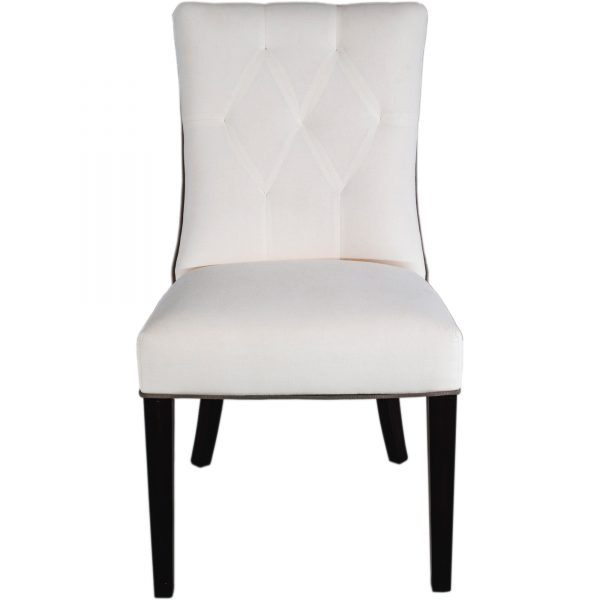 hurling dining chair front view white background