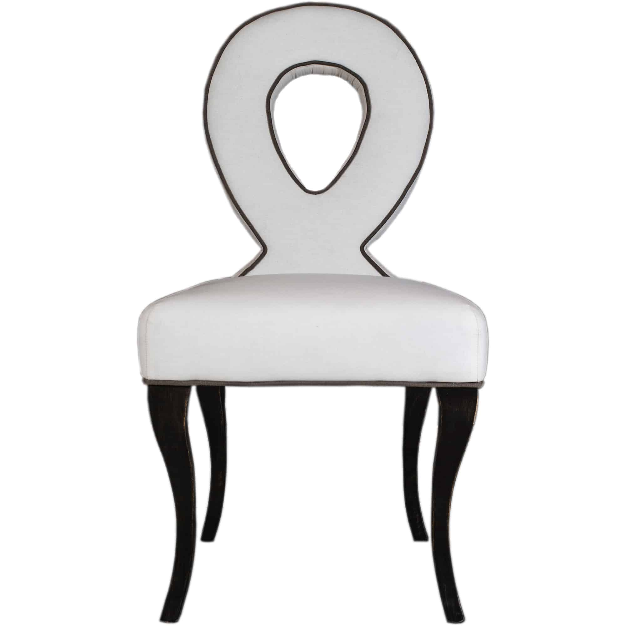 infinity dining chair front view white background