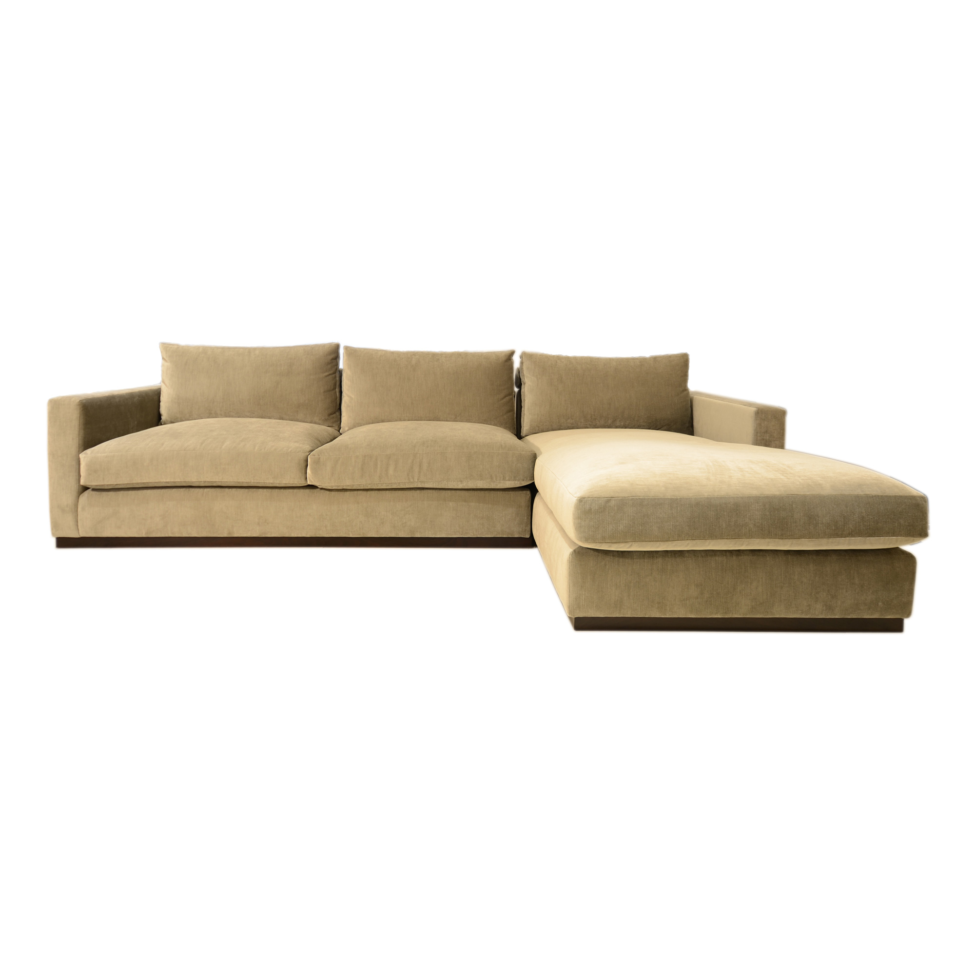 front view of chelsea sofa