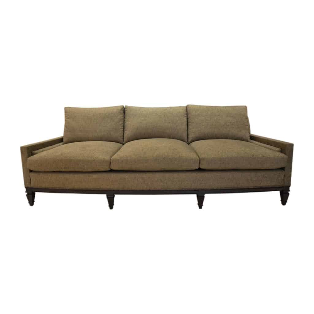 front view moinat sofa white background